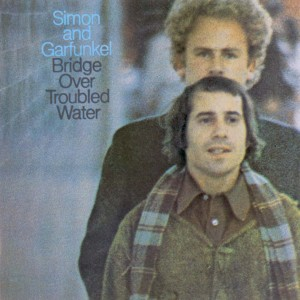 simon and garfunkel - bridge over troubled water (front)