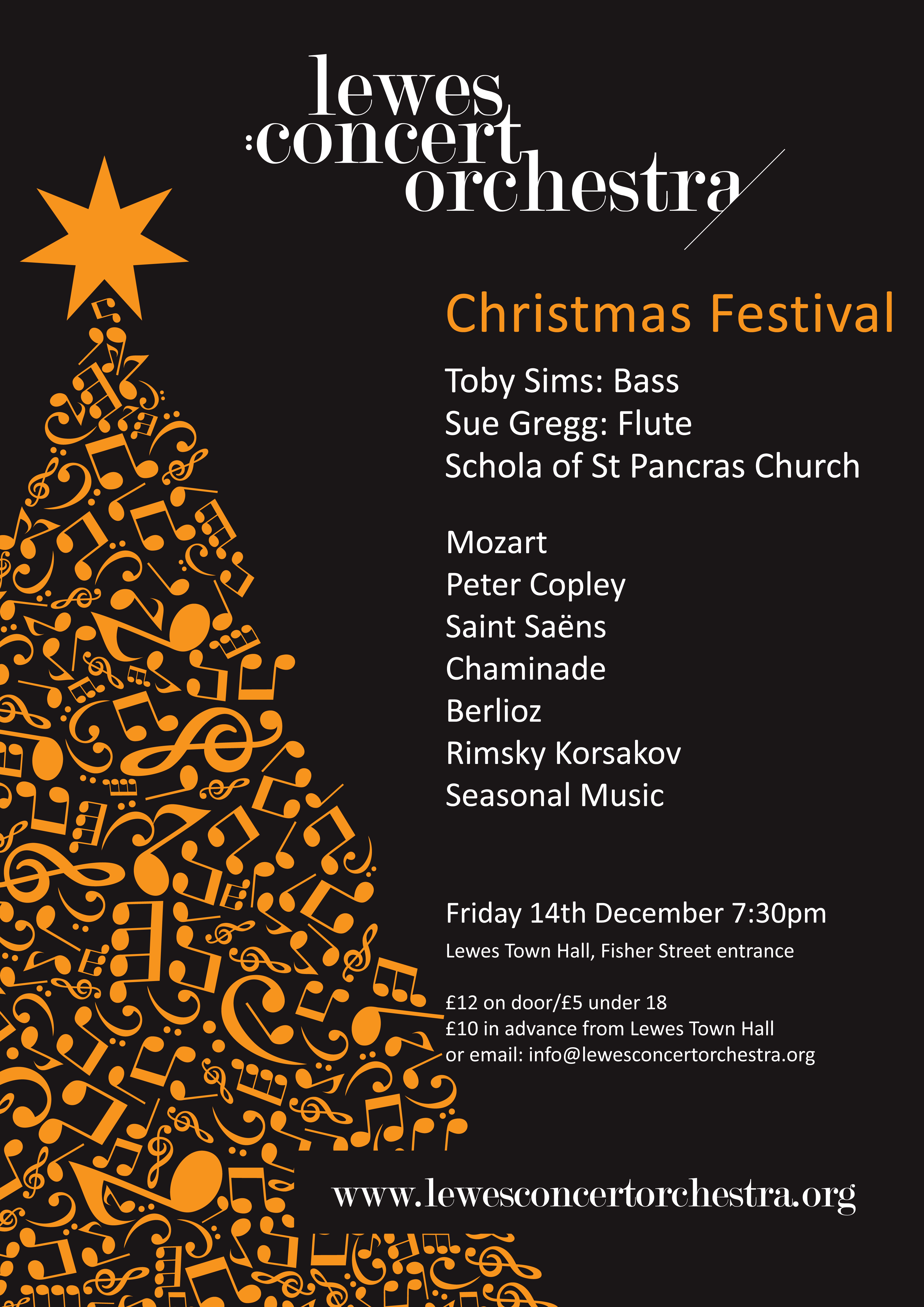 Lewes Concert Orchestra Christmas Concert